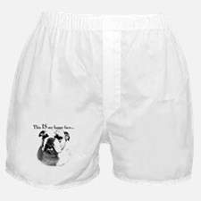 Bulldog Happy Face Boxer Shorts