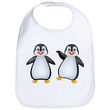 Funny penguin cartoon - Bib