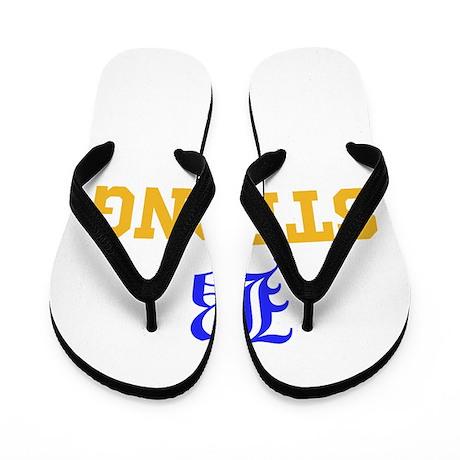 Boston Strong Flip Flops