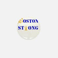Boston Strong Stylized B Ribbon Mini Button (10 pa
