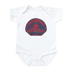 Nebraska Corrections Infant Bodysuit