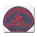 Nebraska Corrections Mousepad