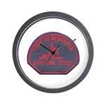Nebraska Corrections Wall Clock