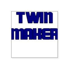 TWIN MAKER BLUE Sticker