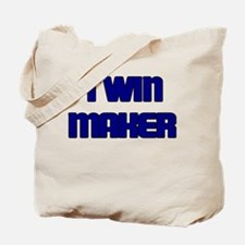 TWIN MAKER BLUE Tote Bag