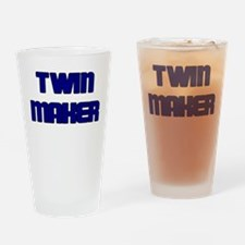 TWIN MAKER BLUE Drinking Glass