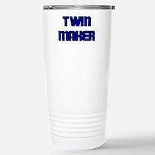 TWIN MAKER BLUE Travel Mug