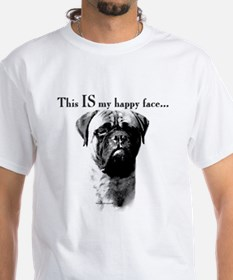 Bullmastiff Happy Face Shirt