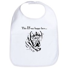 Dogue Happy Face Bib