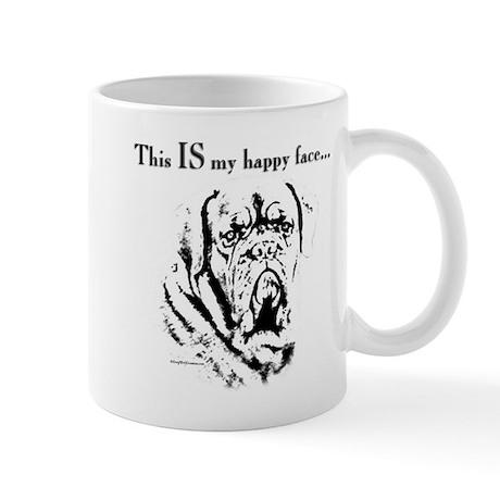 Dogue Happy Face Mug
