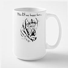 Dogue Happy Face Large Mug
