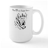 Dogue de bordeaux Coffee Mugs