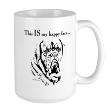 Dogue Happy Face Coffee Mug