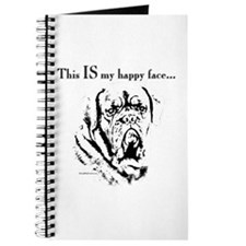 Dogue Happy Face Journal