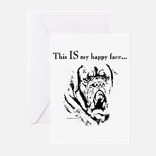 Dogue Happy Face Greeting Cards (Pk of 10)