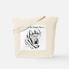 Dogue Happy Face Tote Bag