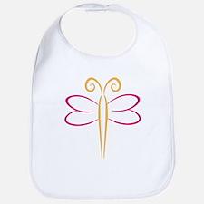 Schmetterling Bib