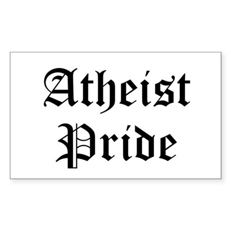 Atheist Pride Sticker