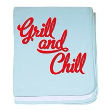 Grill and Chill baby blanket