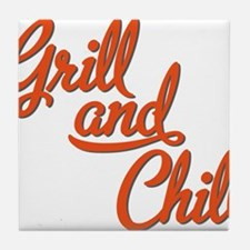 Grill and Chill Tile Coaster