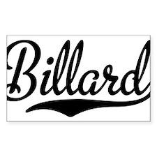 Billard Decal
