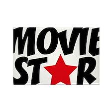 Movie star Rectangle Magnet