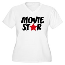 Movie star Plus Size T-Shirt