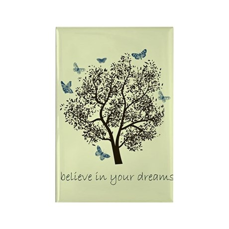 Dream Tree Rectangle Magnet