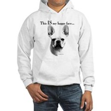 Frenchie Happy Face Hoodie