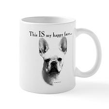 Frenchie Happy Face Coffee Mug