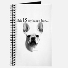 Frenchie Happy Face Journal