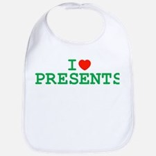 I Heart Presents Bib