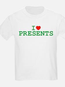 I Heart Presents Kids T-Shirt
