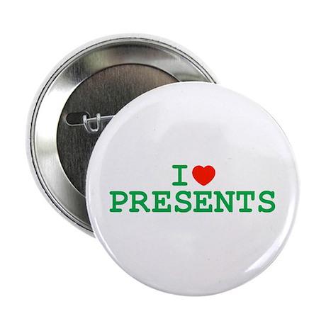I Heart Presents Button