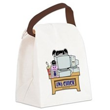 NCIS Abby 4N6 Chick Canvas Lunch Bag