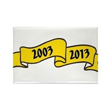 2003 Rectangle Magnet