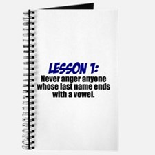 Lesson 1: Journal