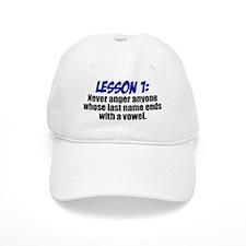 Lesson 1: Baseball Baseball Cap