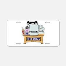 NCIS Abby 4N6 Chick Aluminum License Plate
