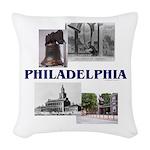 ABH Philadelphia Woven Throw Pillow