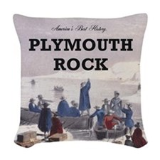 ABH Plymouth Rock Woven Throw Pillow
