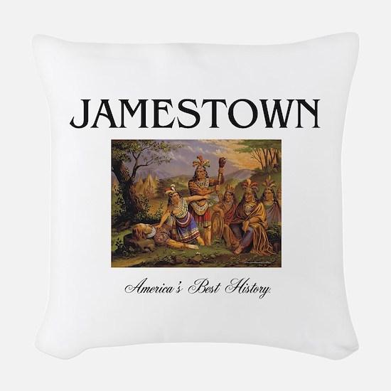 ABH Jamestown Woven Throw Pillow