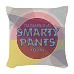 Smart Woven Throw Pillow