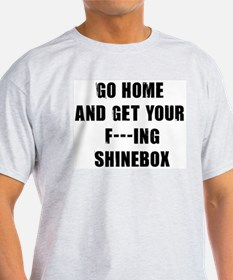 Shinebox Ash Grey T-Shirt