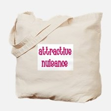 Attractive Nuisance (Pink) Tote Bag