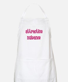 Attractive Nuisance (Pink) Apron