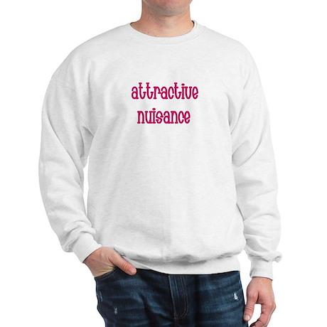 Attractive Nuisance (Pink) Sweatshirt