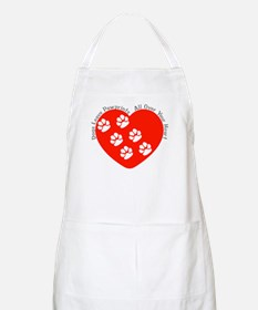 Dogs Leave Pawprints All Over BBQ Apron