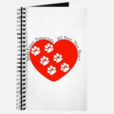 Dogs Leave Pawprints All Over Journal
