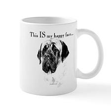 Mastiff Happy Face Coffee Mug